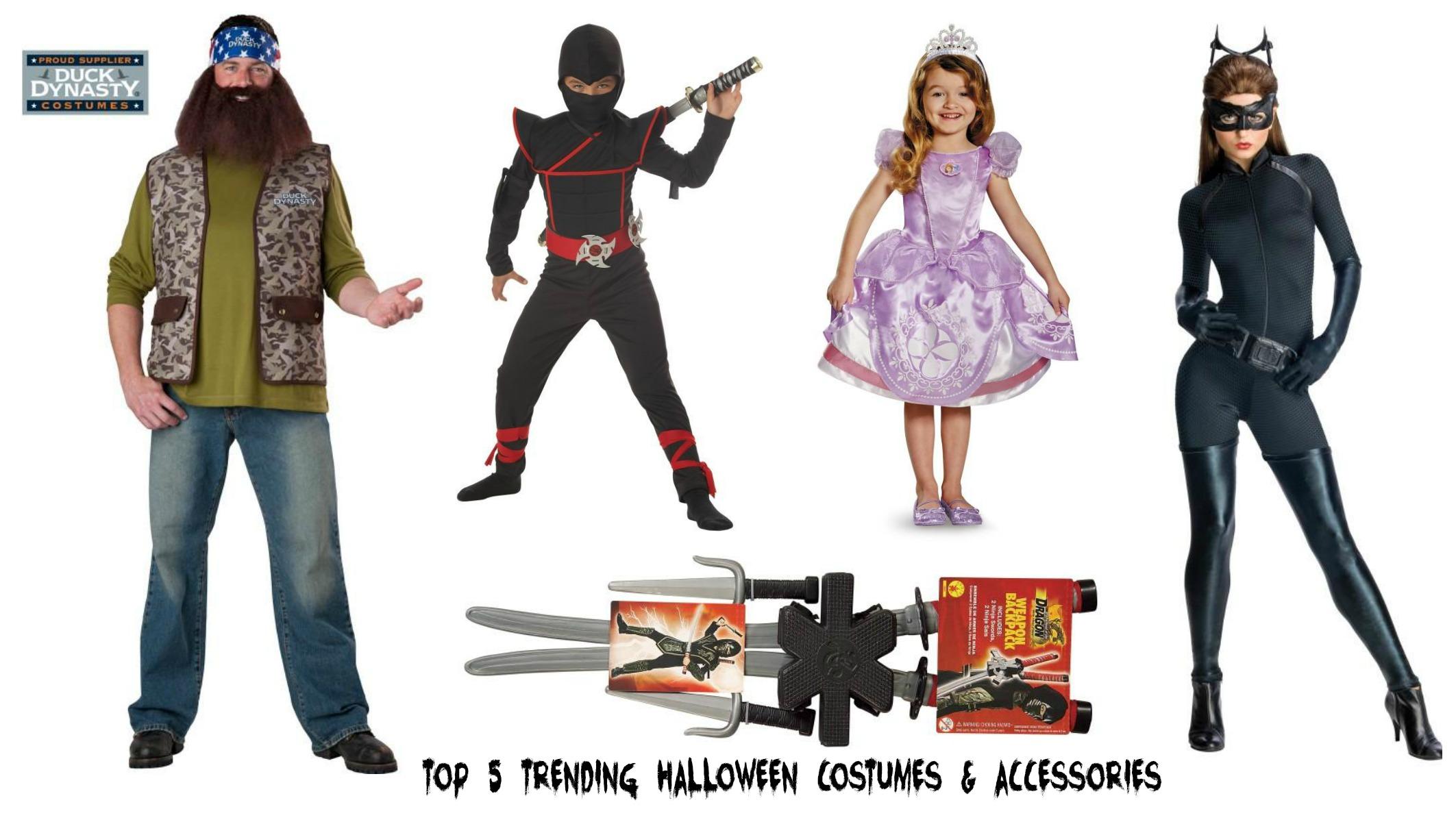 Top 5 Trending Halloween Costumes and Accessories