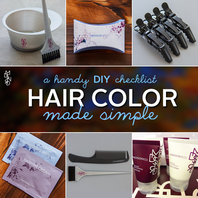 Hair Color Made Simple- A DIY Check List