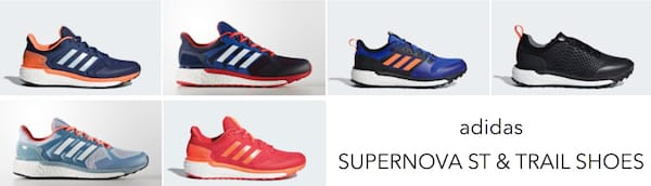 adidas Supernova ST & Trail Shoes
