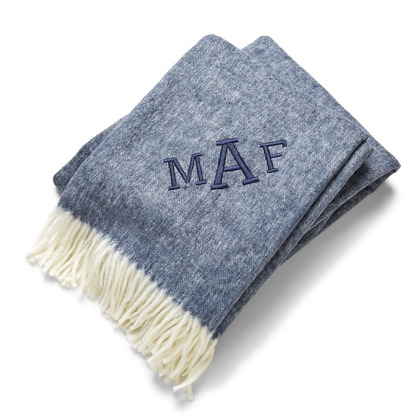 herringbone monogram throw blankets, Give the Gift of Warmth