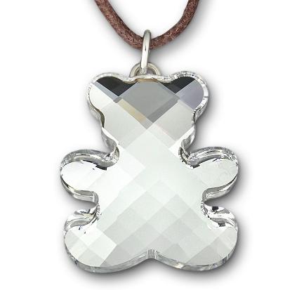 Swarovski Teddy mini Pendant, GRΣΔΤ Sigma Delta Tau Gifts