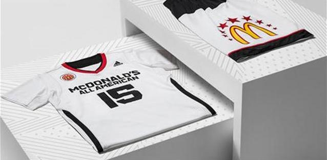 2015 McDonald's All American High School Basketball Games Uniform