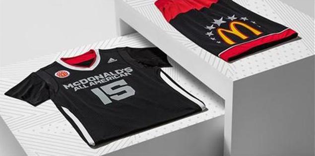 2015 McDonald's All American High School Basketball Games Uniform