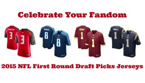 2015 NFL First Round Draft Picks Jerseys