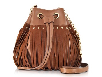 DVF Disco Fringe Bucket Bag