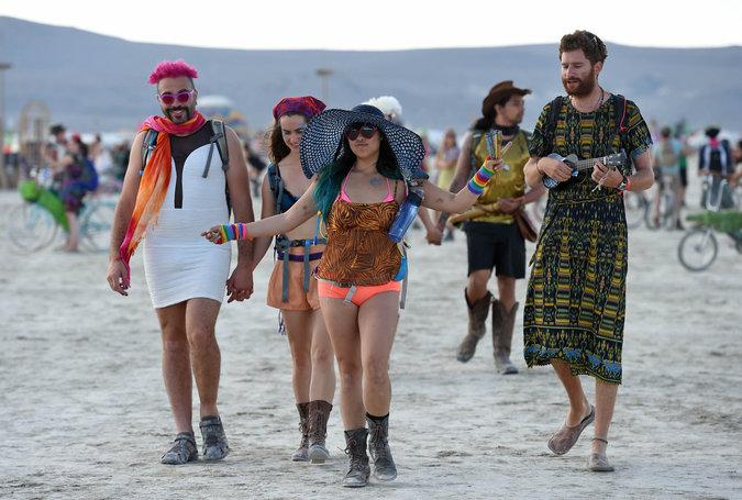 Burning Man Festival Fashion