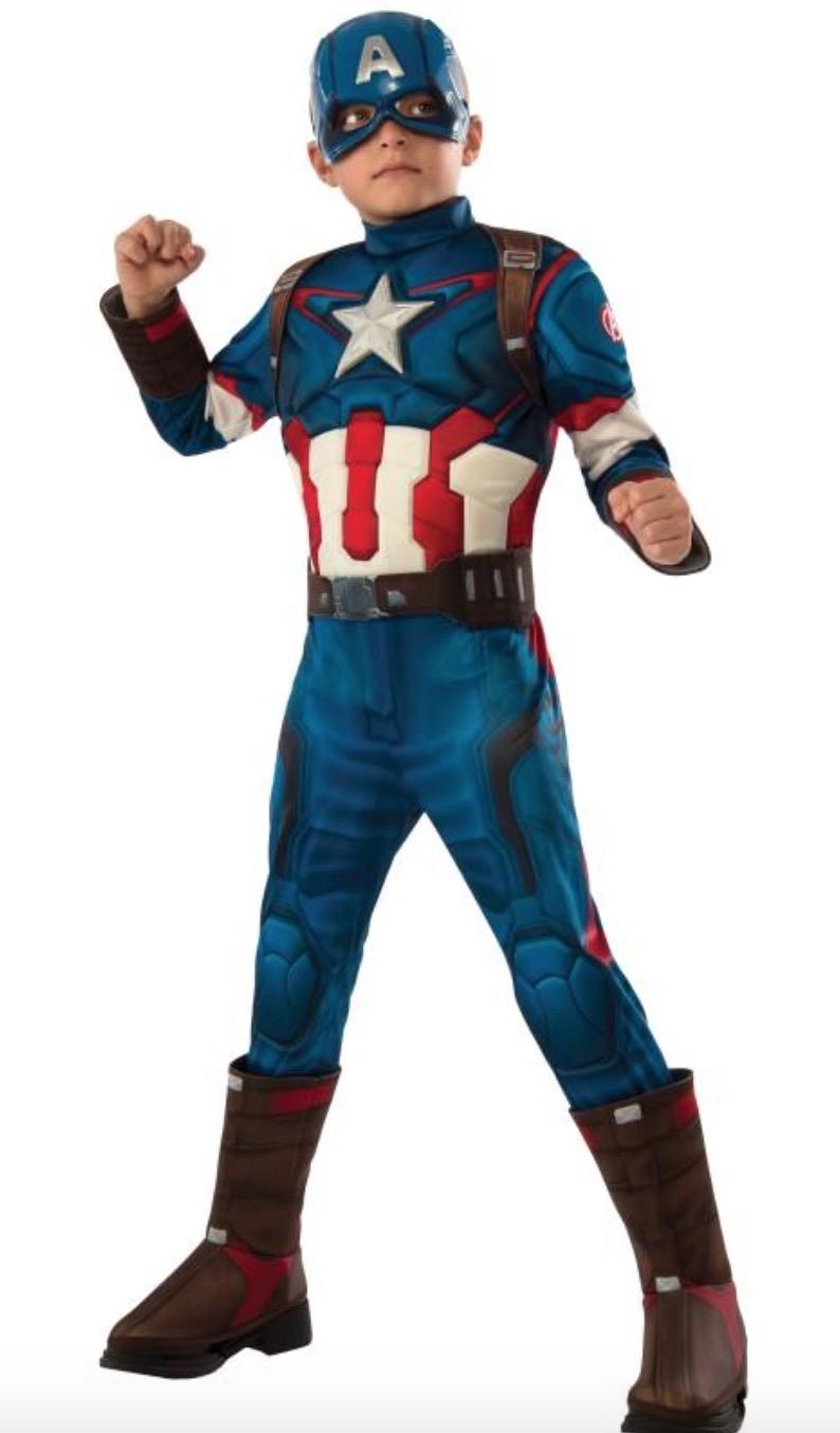 Captain America Kids Costume