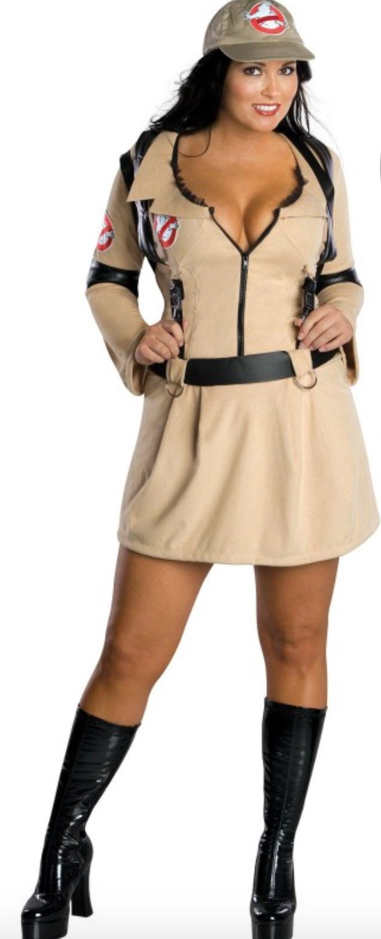 Ghostbusters adult woman costume