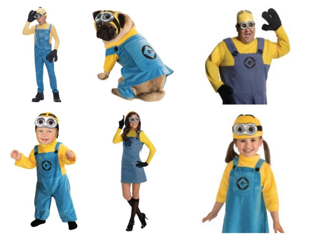Minions Family Costumes