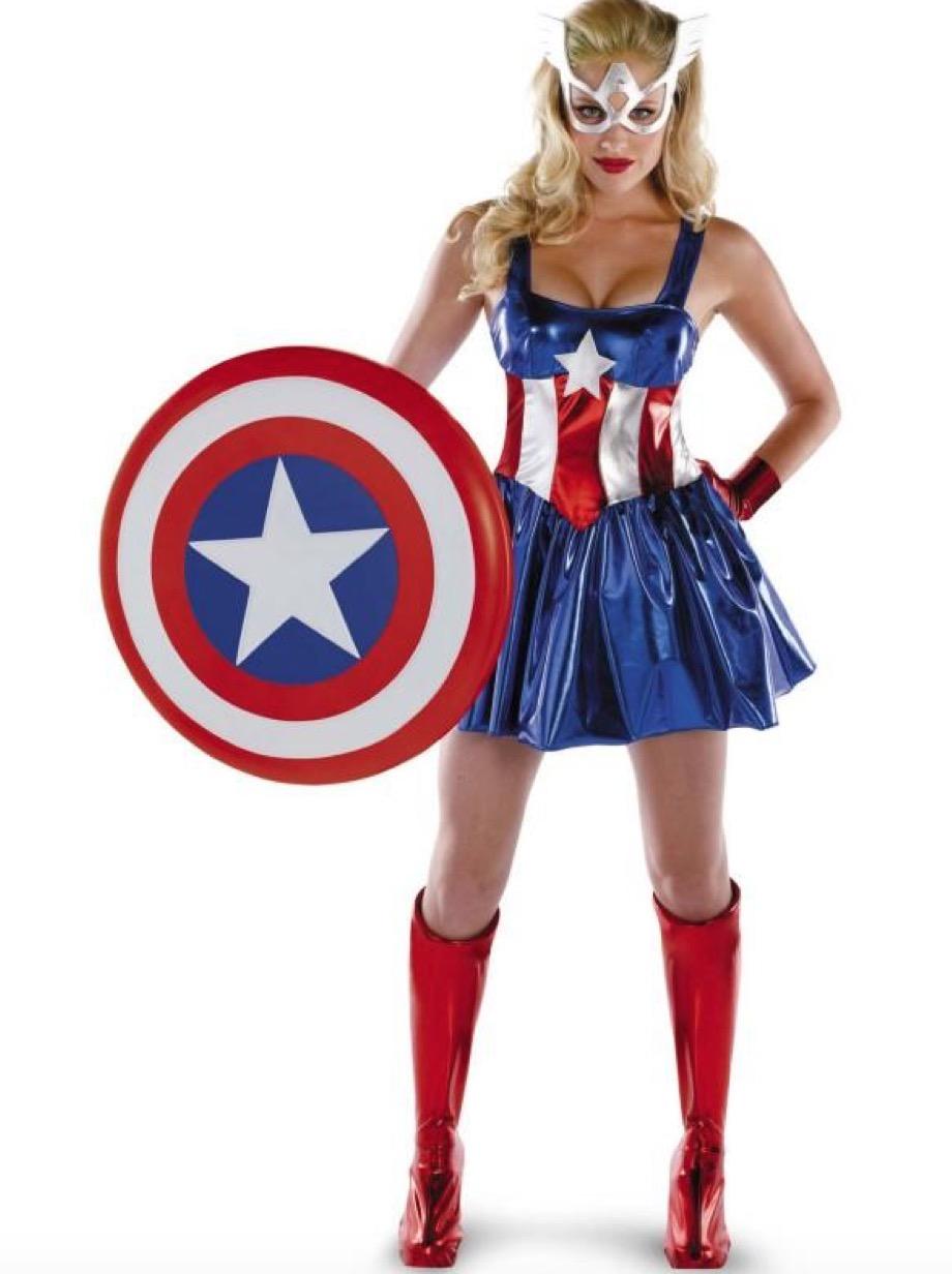 Sassy Captain America costume