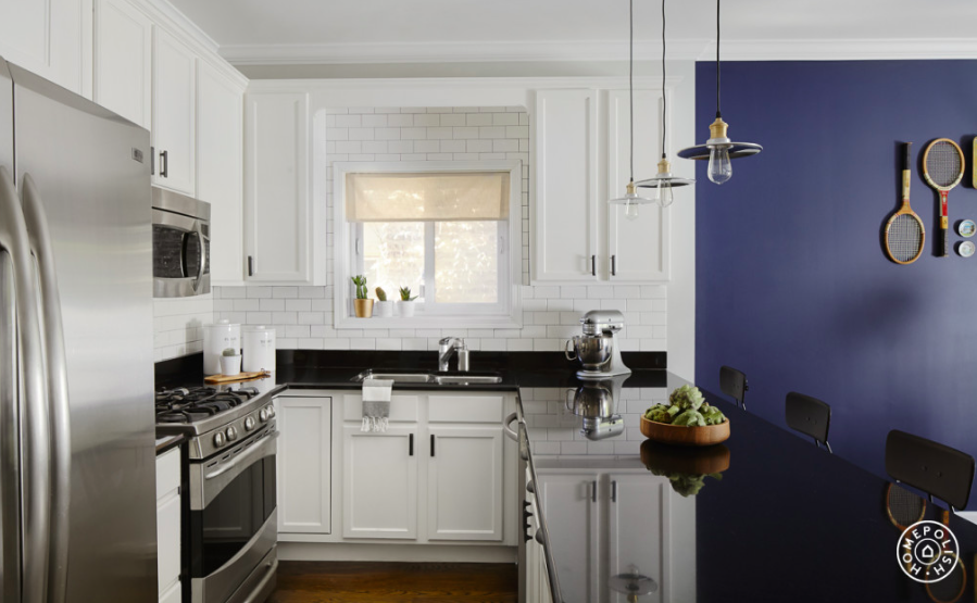 subway tile Kitchen Makeover