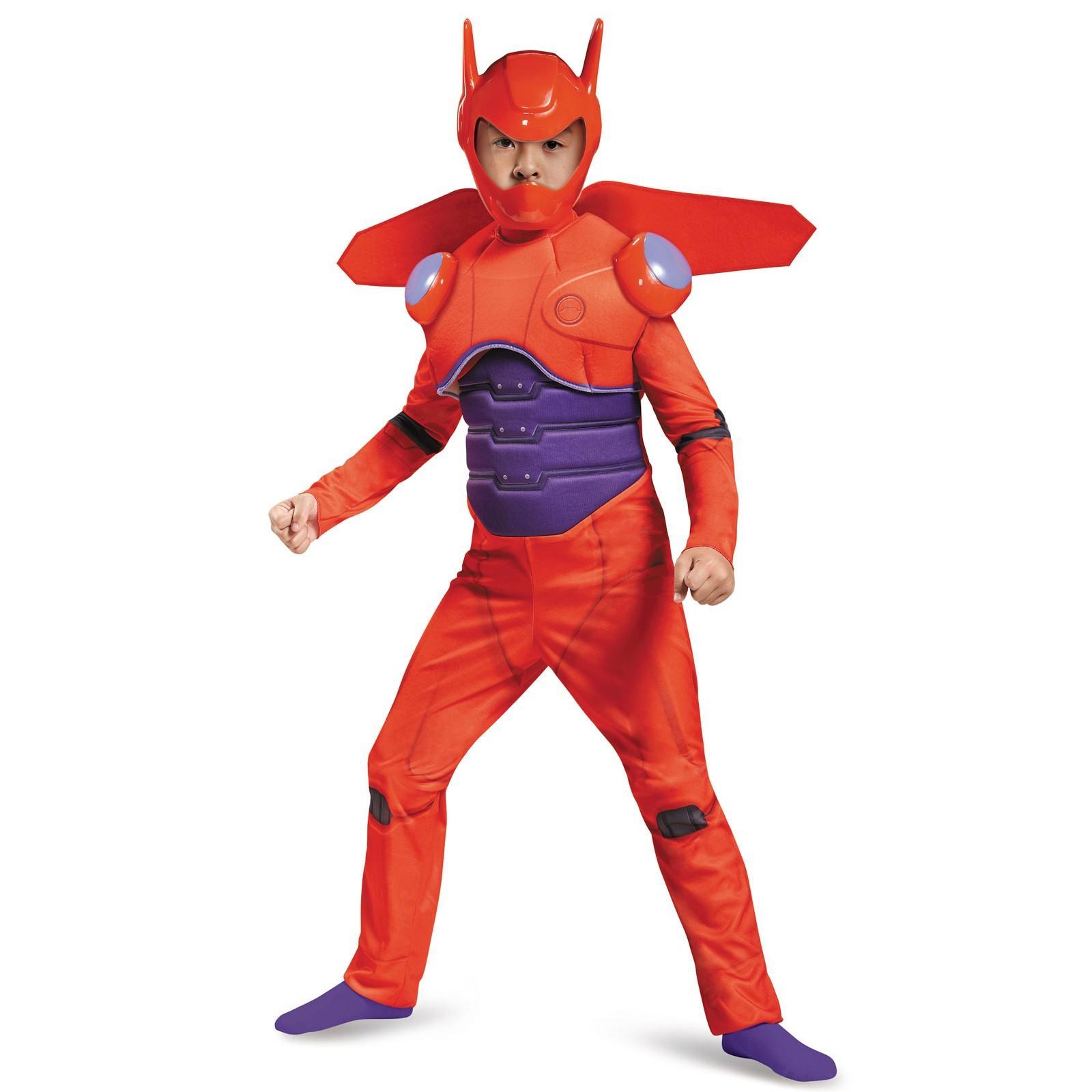 Big Hero 6 Deluxe Baymax Muscle Costume