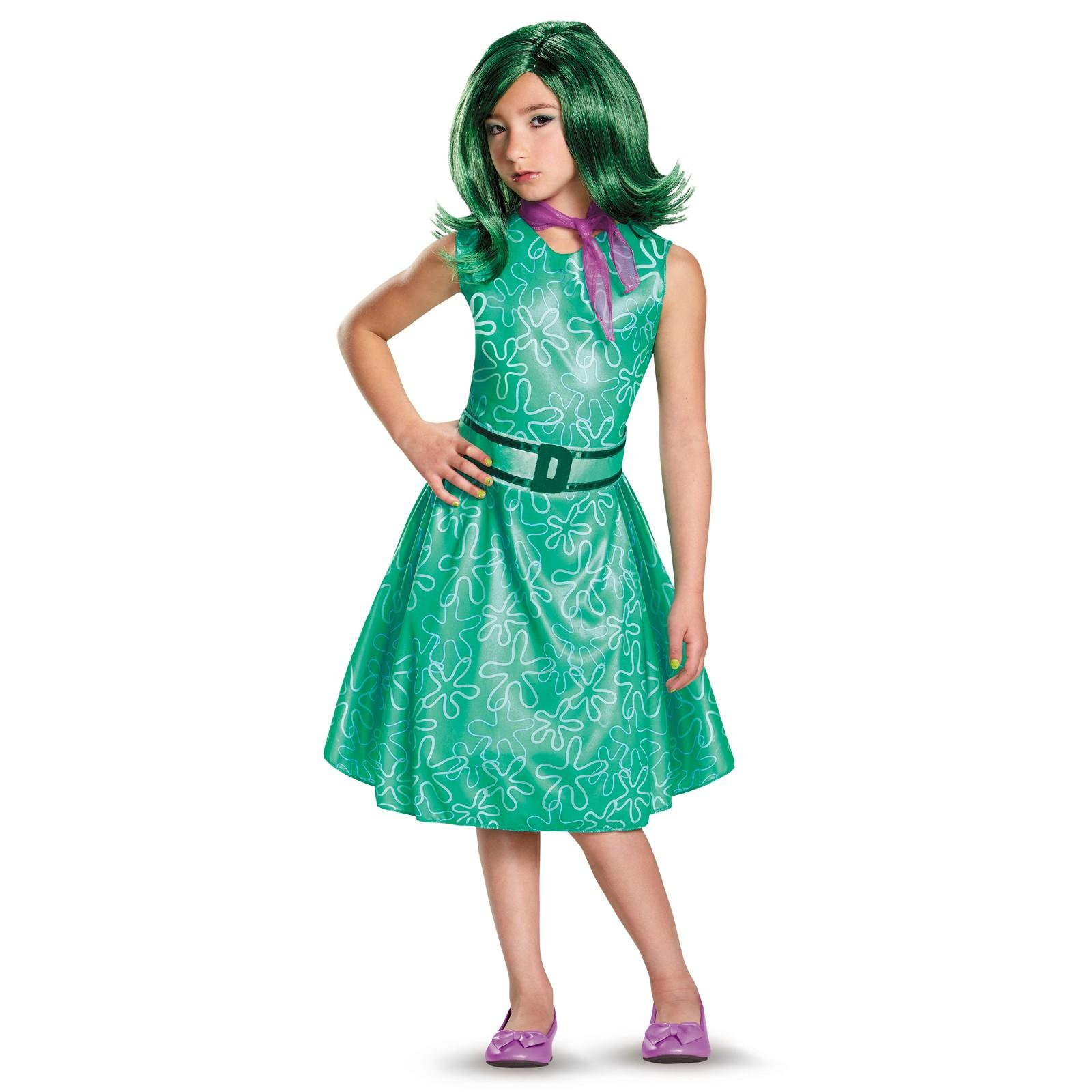 Disney Inside Out Disgust Costume, Top 10 Kids Costumes of 2015