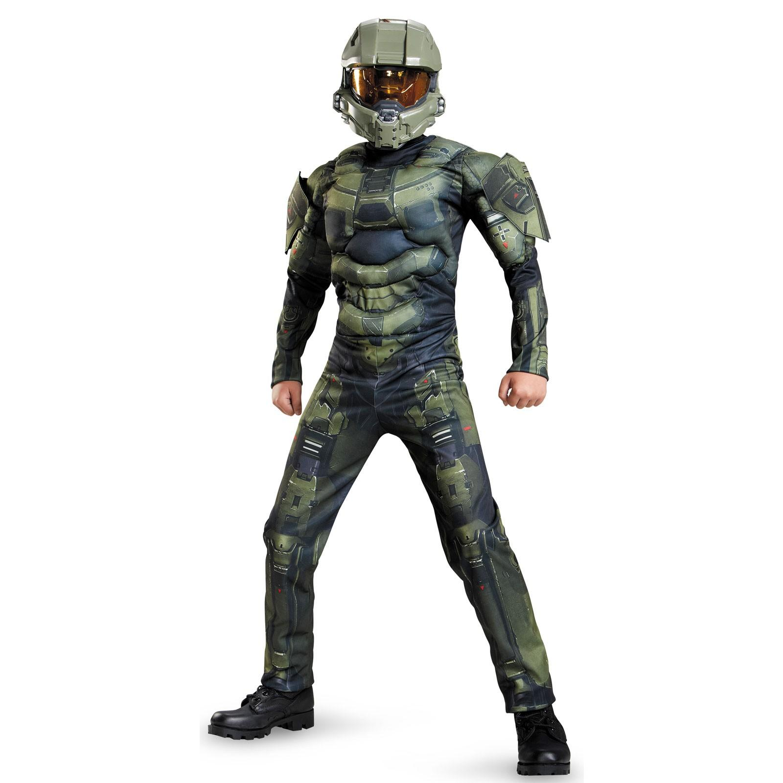 halo kids master chief muscle costume top 10 kids costumes of 2015