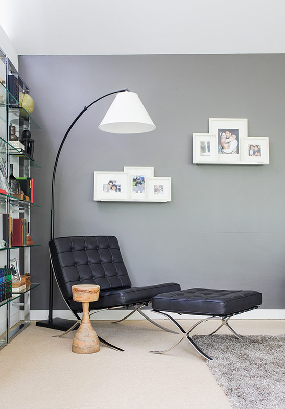 Homepolish corner reading nook with fabulous lamp