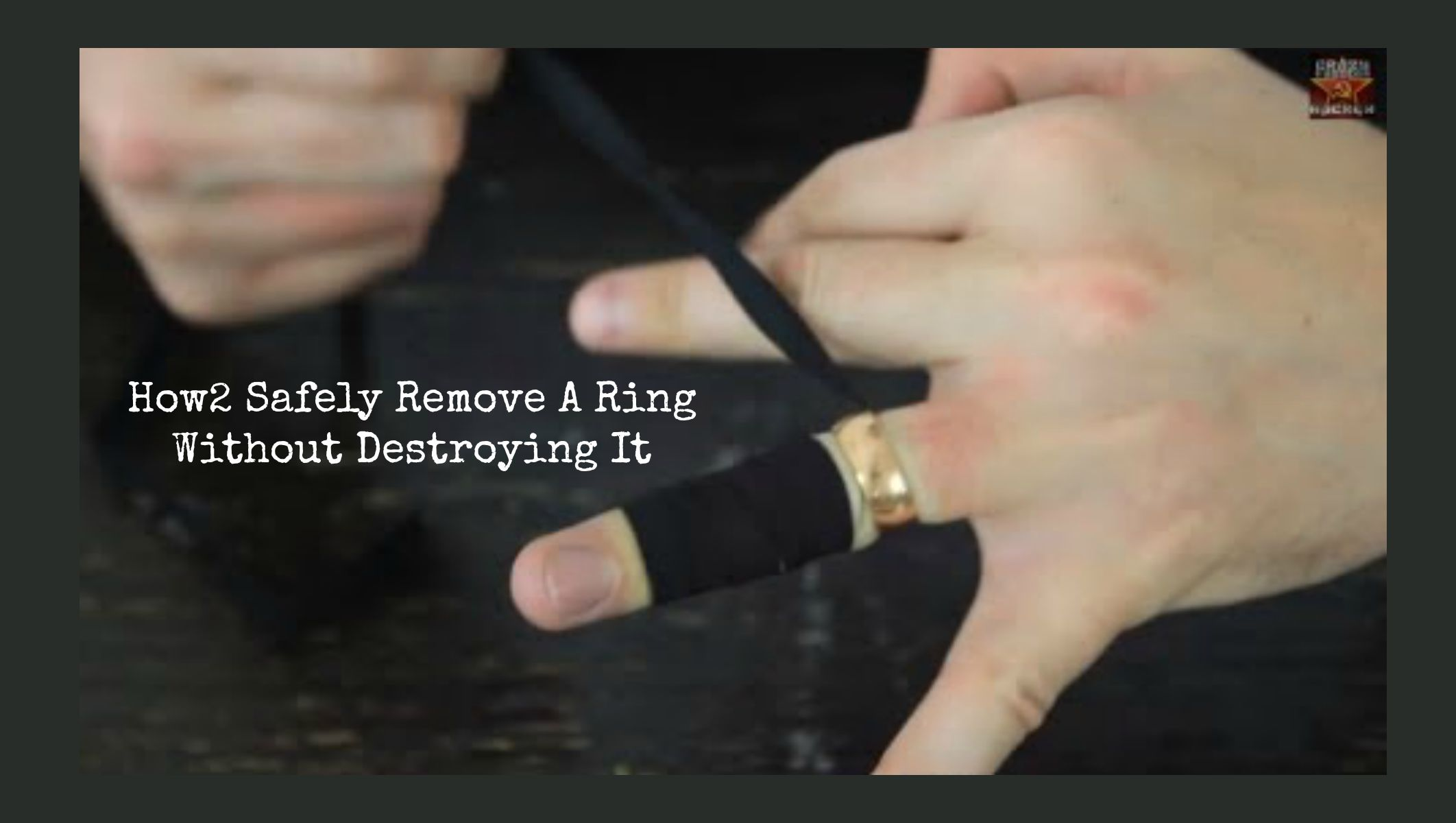 How2 Safely Remove A Ring Without Cutting It Off