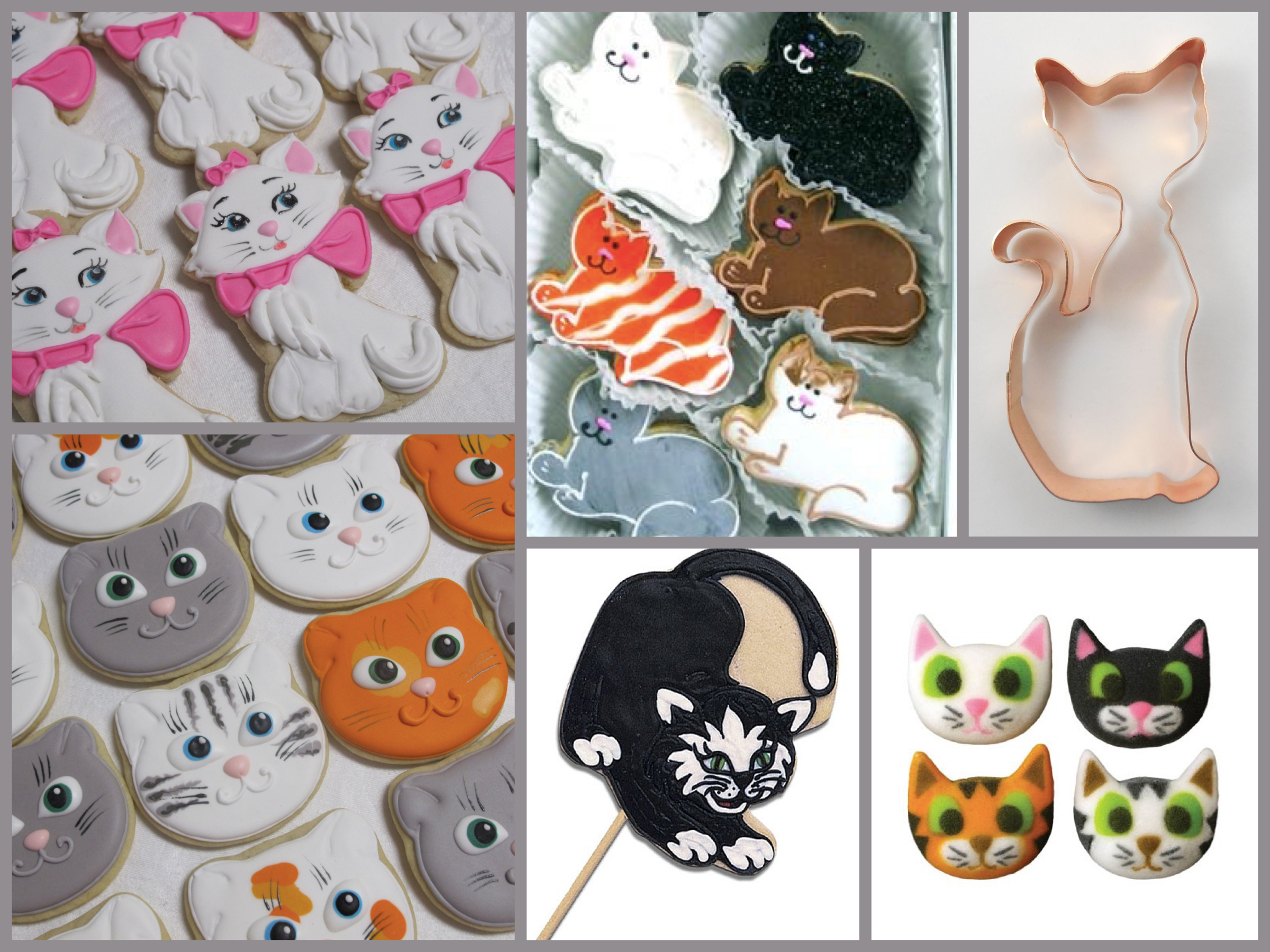 Cat Cookies, Celebrate Cat Cuteness