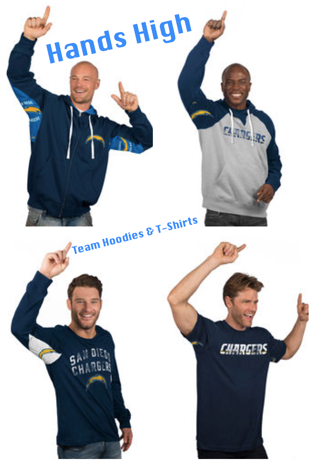 Hands High Team Hoodies and T-Shirts
