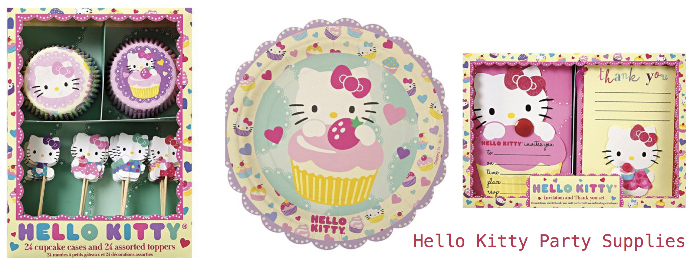 Hello Kitty Party Supplies, Celebrate Cat Cuteness