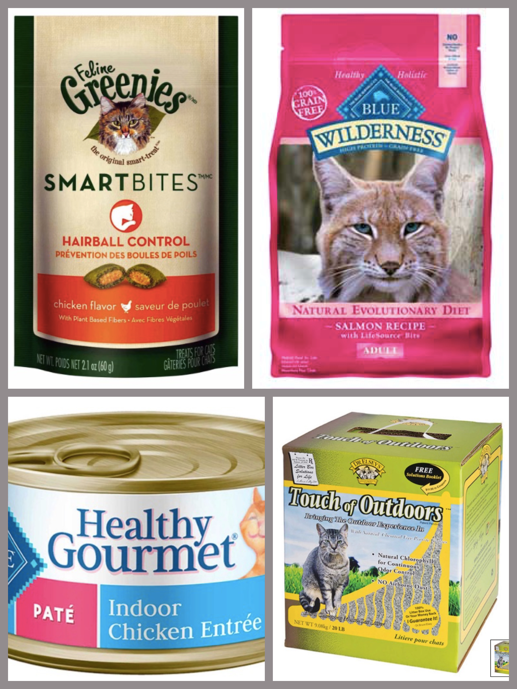 Natural Cat Food & Litter