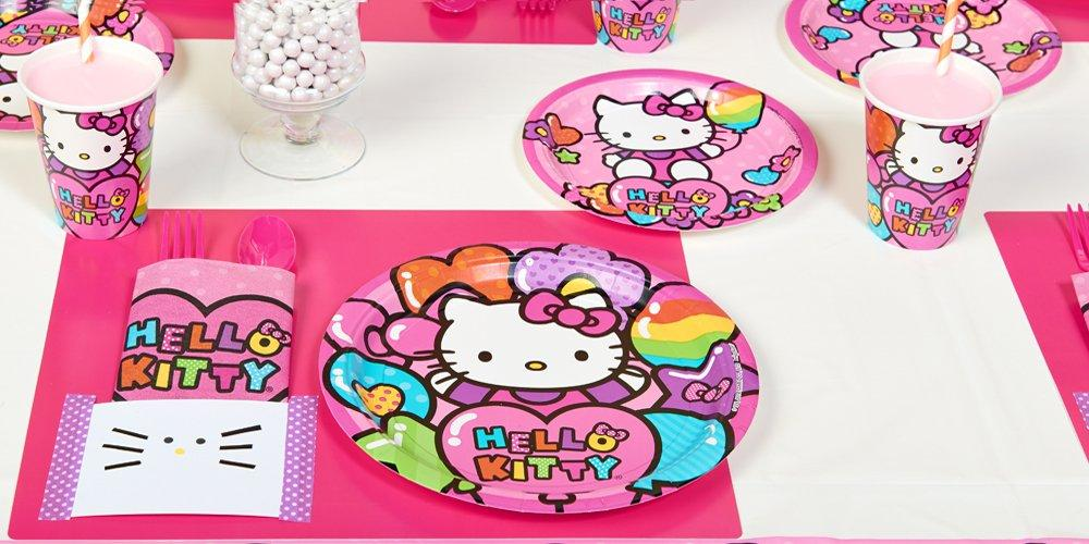 Hello Kitty Party In a Box, Celebrate Cat Cuteness