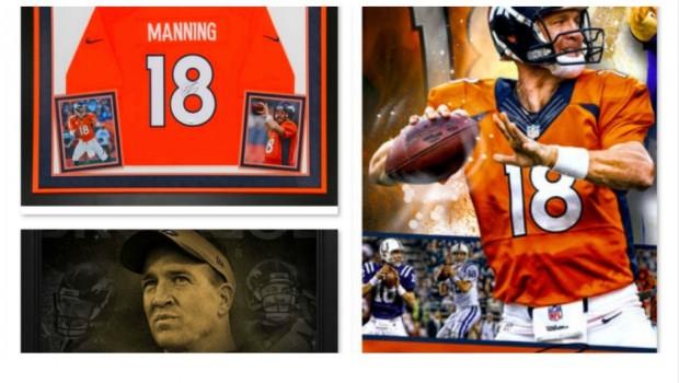 Peyton Manning Collectibles Super Bowl 50