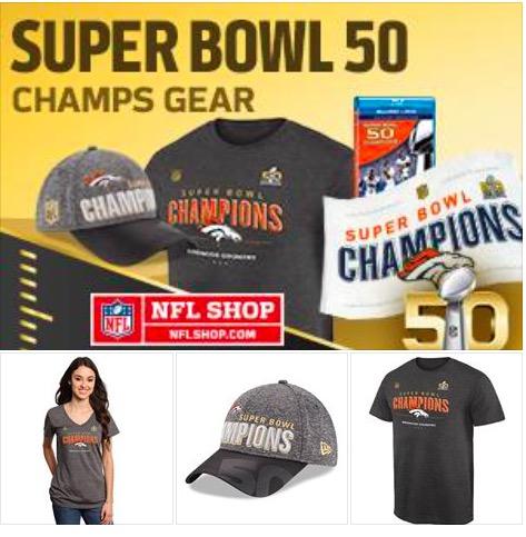 Super Bowl 50 Champs Gear
