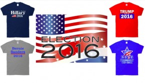 2016 Presidential Primary T-Shirts