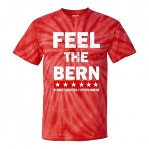 Tie-Dye Feel The Bern Bernie Sanders Presidential Primary T-Shirts