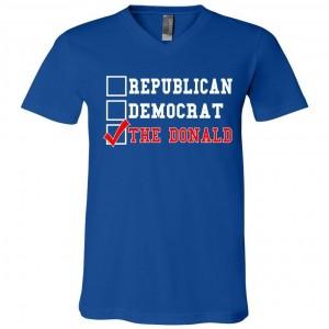 Republican Democrat Donald Trump Presidential Primary T-Shirts