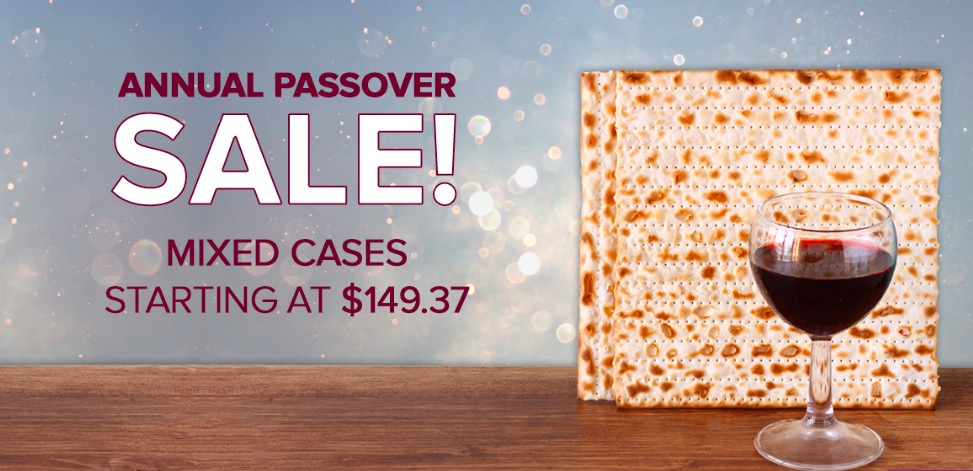 Passover Kosher Wine Sale