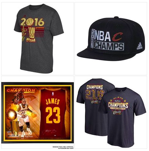 Cleveland Cavaliers Championship Gear, The Cleveland Cavaliers Win