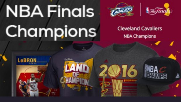Cleveland Cavaliers NBA Championship Gear