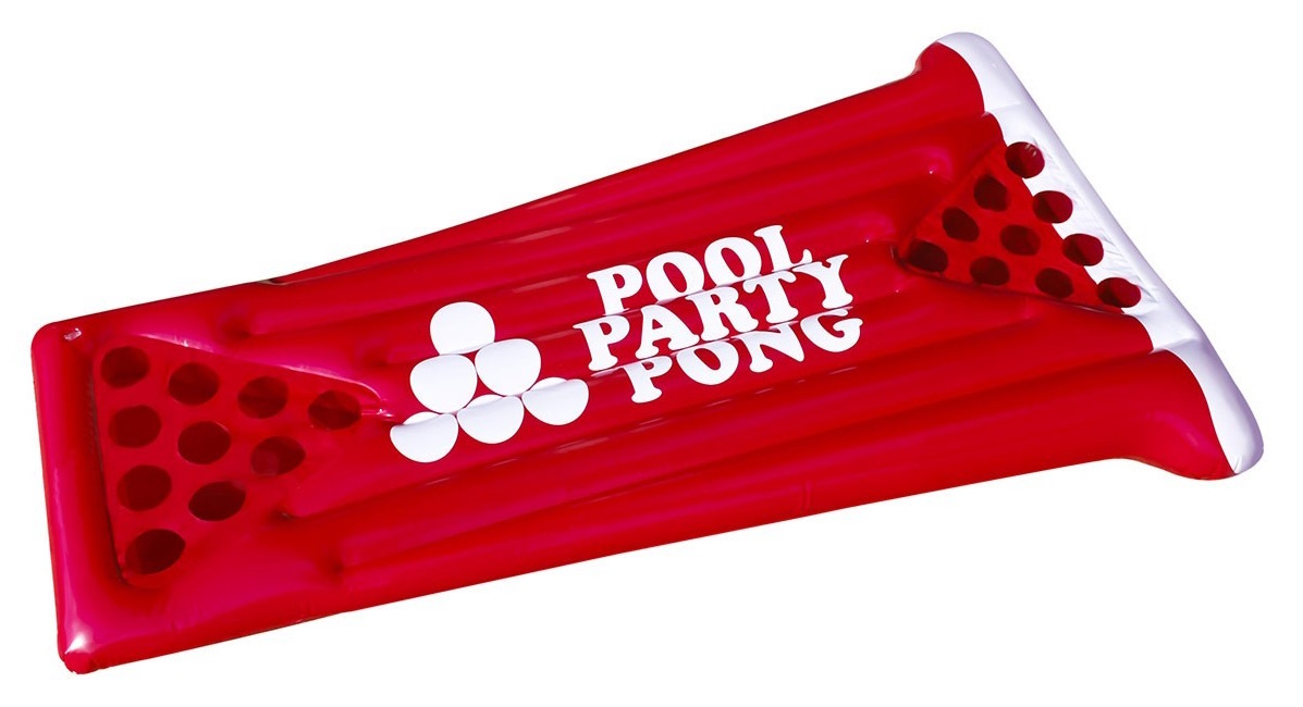Giant Pool Pong Float Game