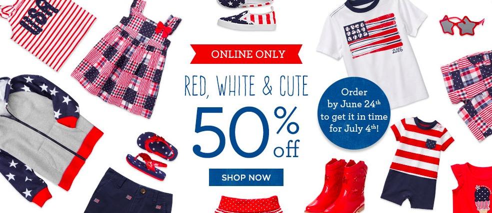 Gymboree Kids Red White & Blue Sale