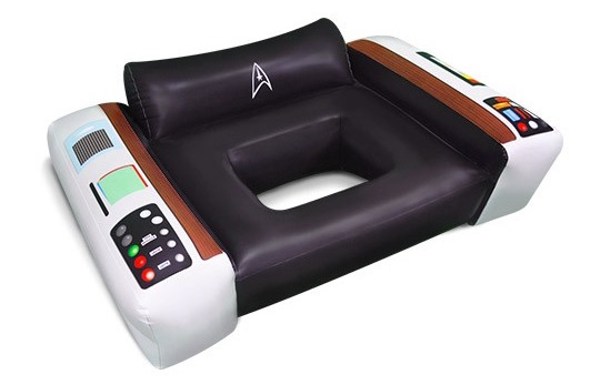 Star Trek Captains Chair Float