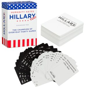 Humanity Hates Hillary Card Game