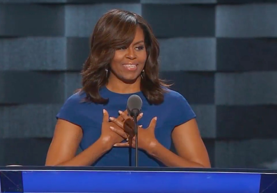 Michelle Obama's Speech to the 2016 DNC