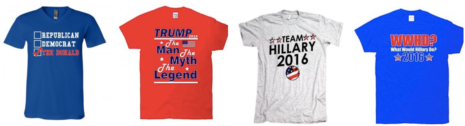 Presidential Campaign T-Shirts