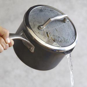 Sur La Table® Dishwasher-Safe Hard Anodized Nonstick Saucepan