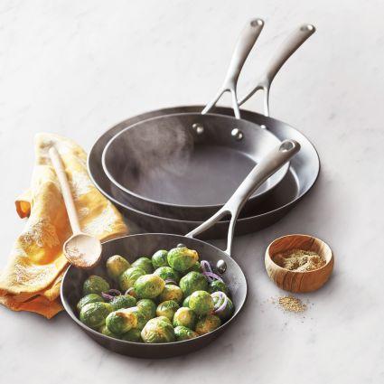 Sur La Table Dishwasher-Safe Hard-Anodized Nonstick Skillets