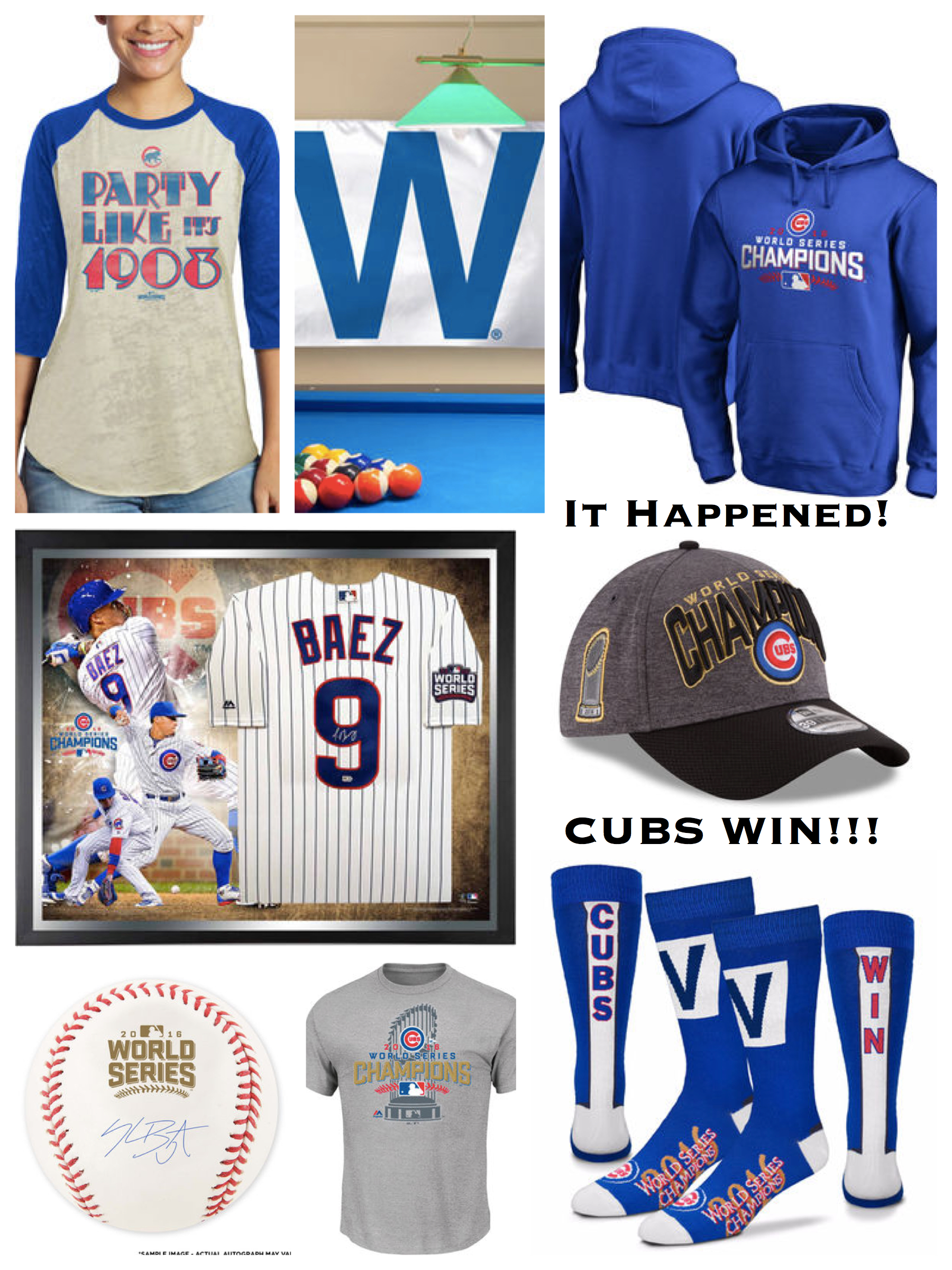 It Happened - Cubs Win!