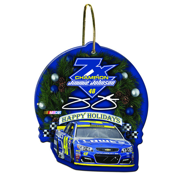 Jimmie Johnson WinCraft 2016 Sprint Cup Champion Acrylic Ornament, Jimmie Johnson Champion Gear