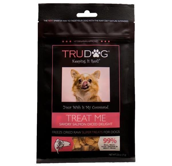 TruDog TreatMe Diced Salmon Dog Treats