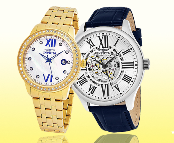 Invicta Men's and Women's Holiday Watches