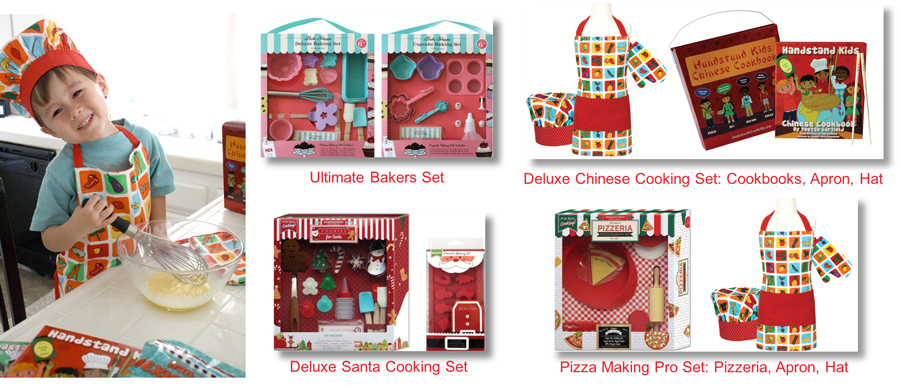 Kids Cooking or Baking Set from Handstand Kitchen
