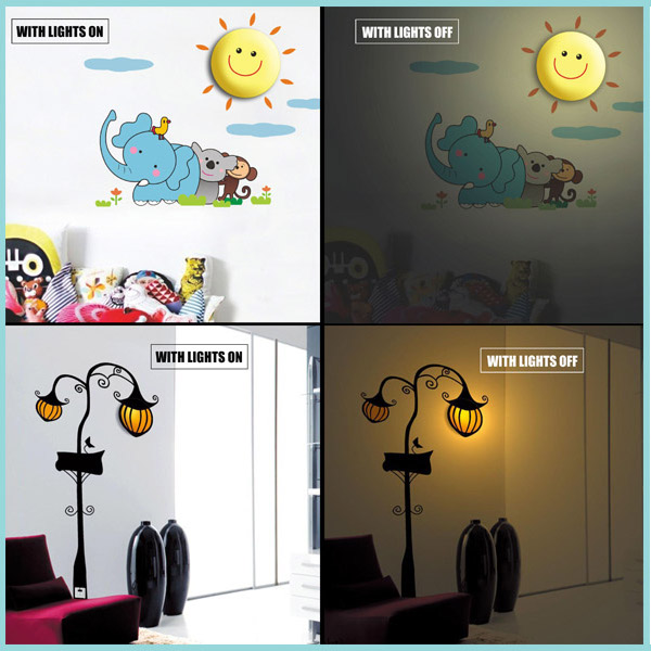 Koolulu Wall Decal Lamps
