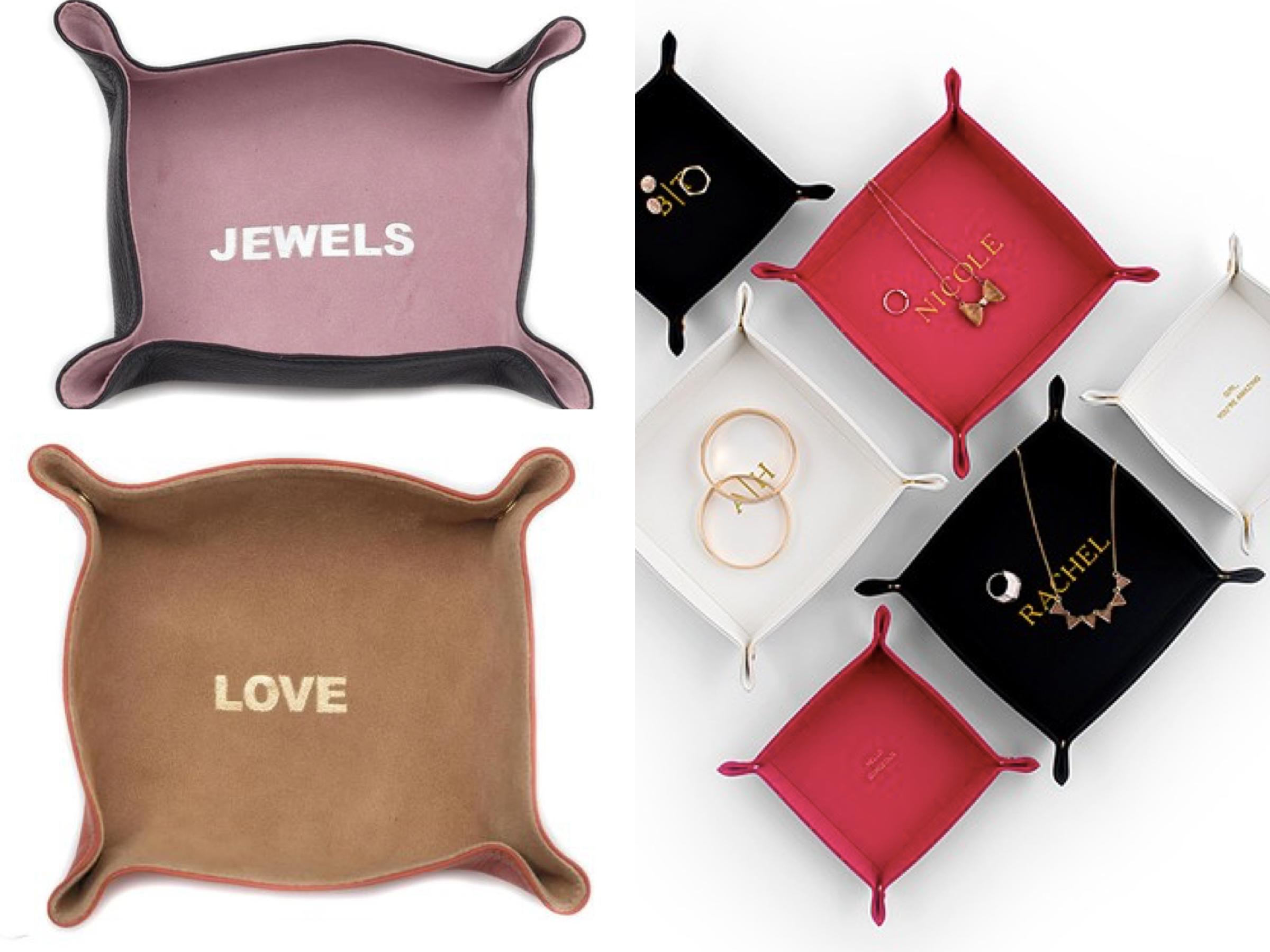 Leather Jewelry Tray