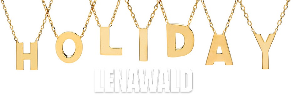 Lena Wald Initial Necklaces