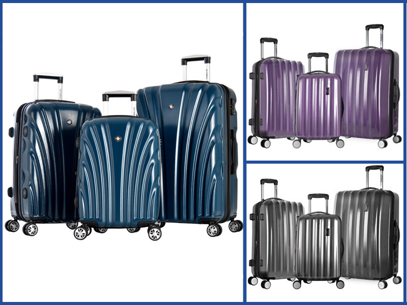 Olympia USA Hard Case Luggage 3-Piece Set